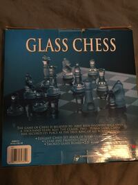 Glass chess game  El Paso, 79925