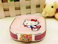 pink and white Hello kitty case New York, 11372
