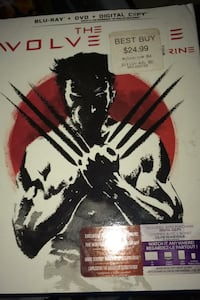 blue ray and dvd combo pack wolverine Abbotsford