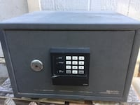 Gray sentry safety vault with 2 keys