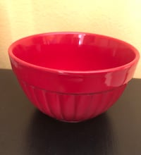 Small Red Mixing Bowl!