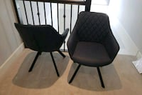 Set of 2 Blue Chairs from Wayfair  Surrey, V3S