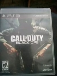 Call of Duty Black Ops PS3 game case Macon, 31206