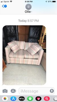 Loveseat sofabed