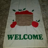 Russell large Apple welcome flag Virginia Beach, 23455