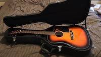 brown acoustic guitar with case Ventnor City, 08406