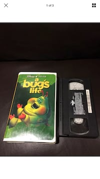 A Bug's Life Clamshell VHS Tape London, N6G 2Y8