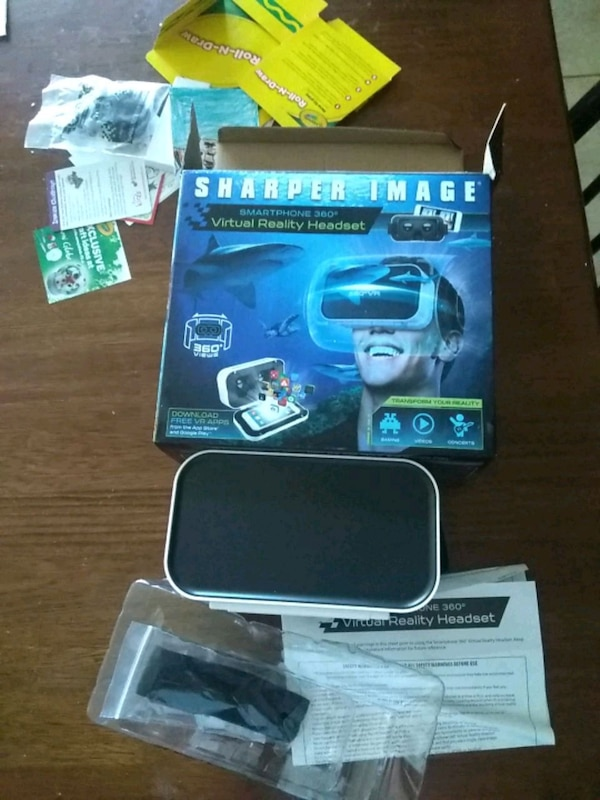 Used Sharper Image Virtual Reality Headset For Sale In San Antonio