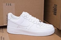 Air Force 1 all white side 9 St. Louis, 63116