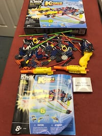 Knex dual  cross building set build and blast  Lexington Park, 20619