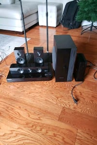 Samsung 5.1 Home Theater Sound System 3D Bluray Player