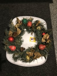 Couronne de Noël-Christmas wreath Payer 25$