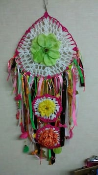 pink and white dreamcatcher Rock Spring