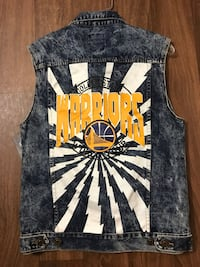 Golden State Warriors Denim Vest