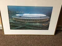 Outstanding Old School Cincy Riverfront Professional Framed Piece