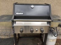 black and gray steel Kenmore 3-stove gas grill San Jose, 95123