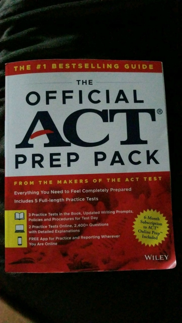 the official act prep pack with 5 full practice tests 3 in official act prep guide 2 online