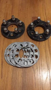 Wheel adapters and spacers