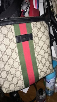 black and green Gucci monogram leather wallet Guelph, N1H 6B2