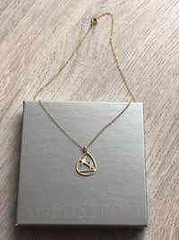 Necklace-Love Birds (Sterling Silver,Gold Plated)  Toronto, M4Y