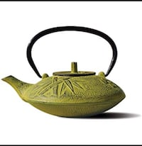 Old Dutch Cast Iron Sakura Teapot, 37-Ounce, Moss Green Washington, 20012