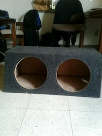Solid 12 in.. subwoofer box (enclosed box only)  Akron, 44306