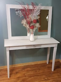 Large Bombay Hall Table with Mirror
