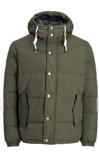 Men's Army green jack jones jacket (still has the tags on it and never been worn) size M  Ladner, V4K 3R2