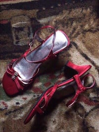 Blossom Collection fancy red heels - new condition! Hazleton, 18202