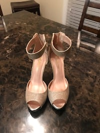 All size 8.5 heels. They all have been worn once...  Summerville, 29483