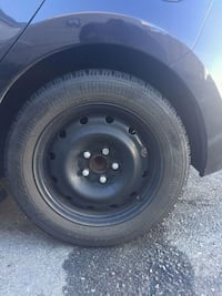 Steel rims with Snow tires x4 Surrey, V3R 6N8