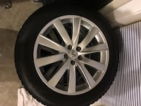 gray BMW multi-spoke car wheel with tire Clarksburg