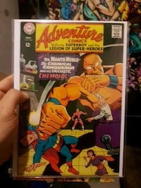 DC Adventure comics featuring superboy and the leg Richmond Hill, L4S 1A1