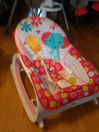 Baby chair  secure and rocks 1 Caledon