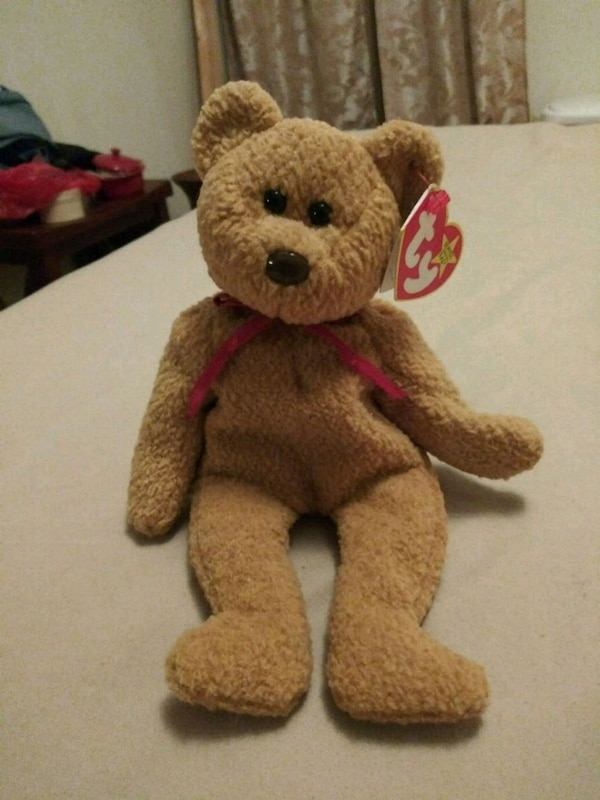 Used brown bear TY Beanie Baby for sale in North Providence - letgo c08a809c2be