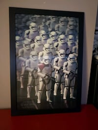 Storm troopers  wall art