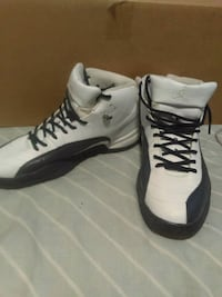 white-and-black Air Jordan 12's Maple Heights, 44137
