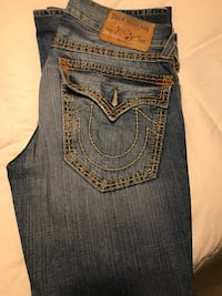 true religion denim bottoms - size 33 Toronto