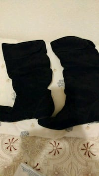 black suede knee high boots Stockton, 95205