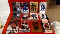 nine assorted football trading cards Brantford, N3T 3H4