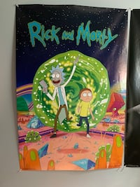 Rick and Morty poster Rockville, 20851