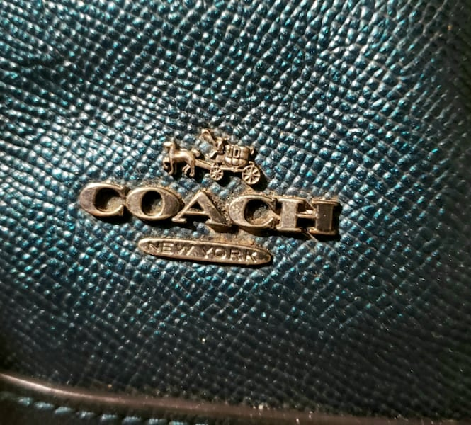 NEW Ocean color COACH purse 15c44a82-a674-4125-b6e2-3a08d9c4576d