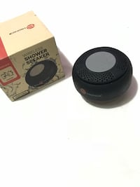 two black and gray bluetooth speakers Toronto, M9N 2A4