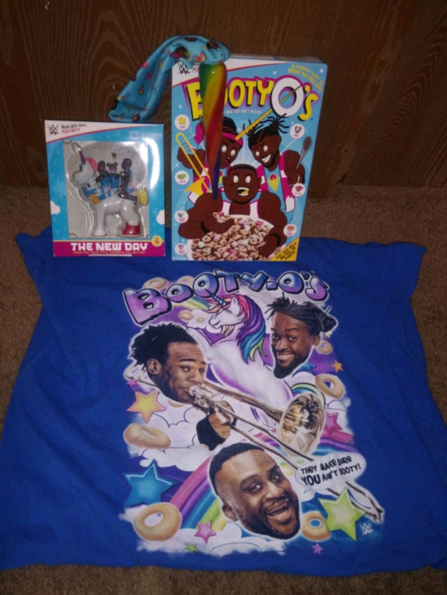 Photo Wwe new day collection