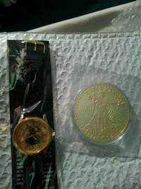 1933 Golden Eagle coin & Matching Watch . Monroe, 71203