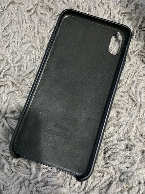 Leather Case iPhone Xs Max cafaab32-6315-4a13-a3bc-049b61a0c9cd