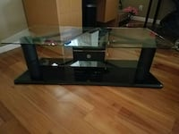 Glass top TV stand Oakley, 94561