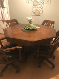 Gaming / Dining table 4 chairs  Modesto, 95355