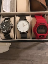Assorted watches 27 km