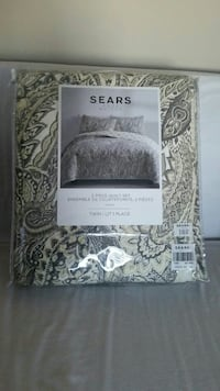 Twin size brand new quilt set